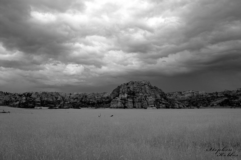 Zion National Park, storm clouds, photo