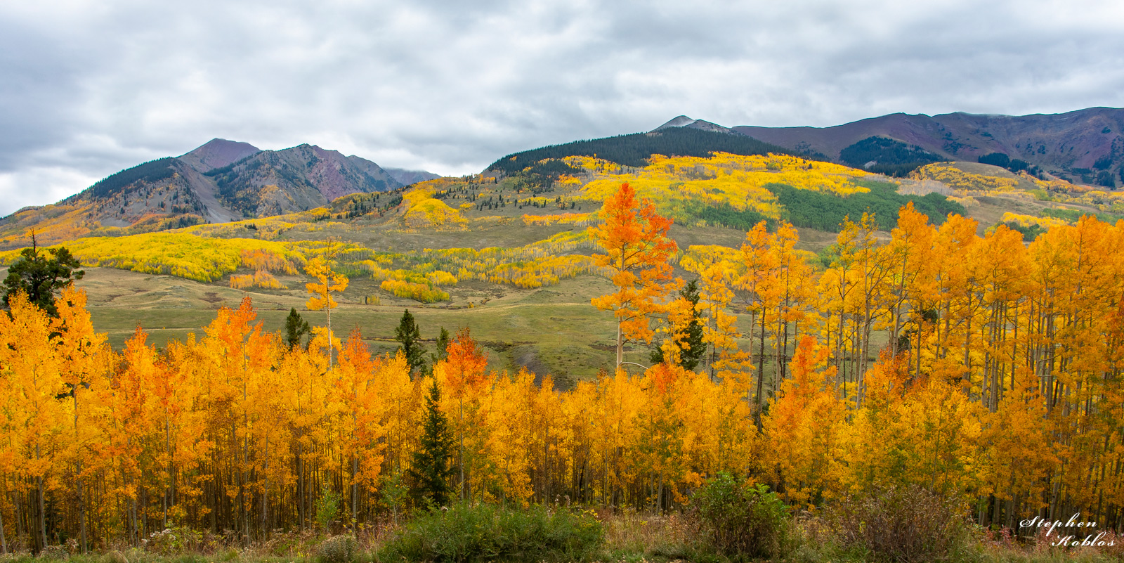 Autumn at Crested Butte  Limited Edition of 100