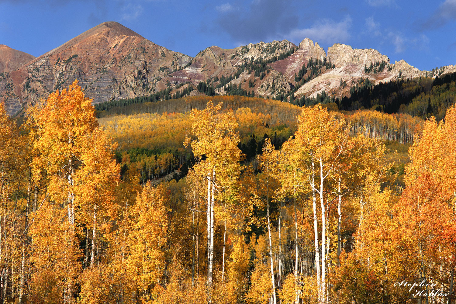 Fall color over Kebler Pass  Limited Edition of 250