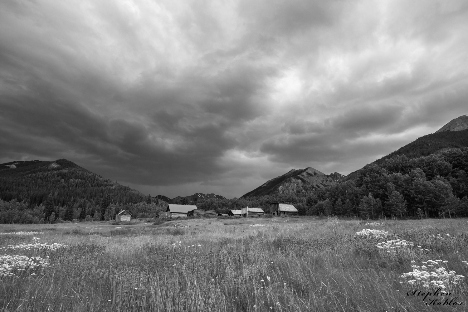 ghost town, ashcroft, photo