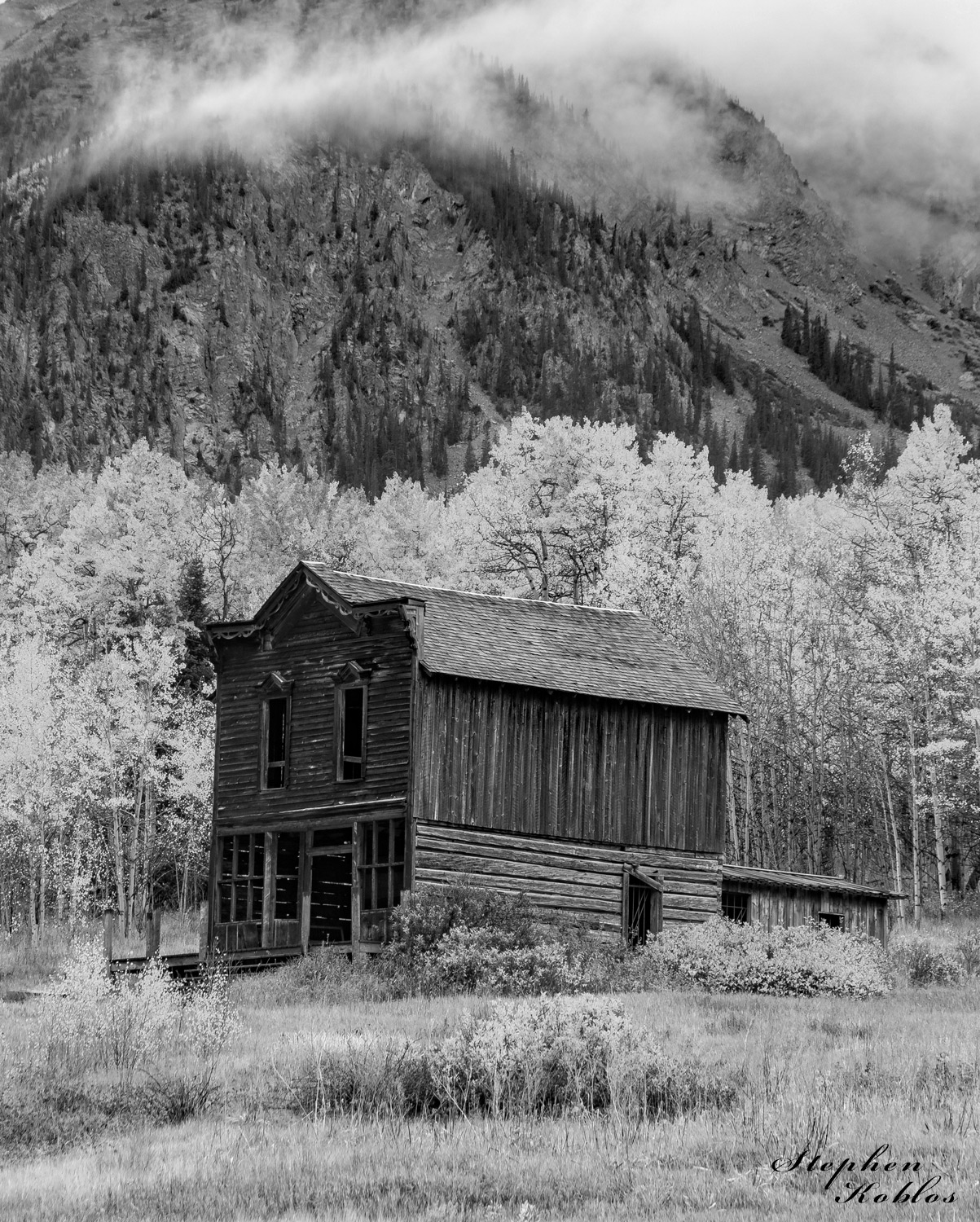 Ashcroft, ghost town, photo