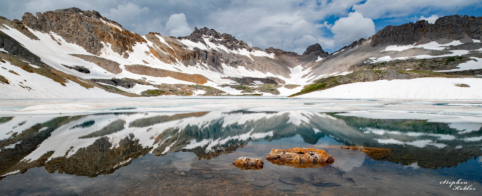 Columbine Lake in summer 2019  Limited Edition of 100