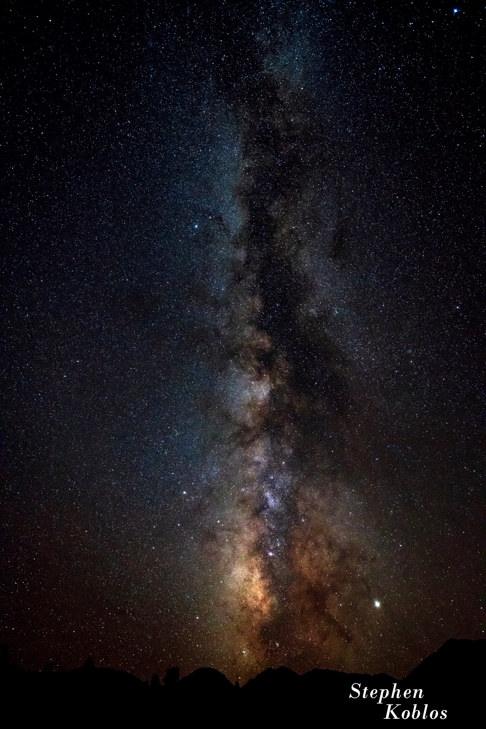 Milky Way over the San Isabel National Forest.   Limited Edition of 100