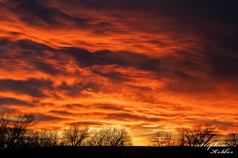 sunset, Elizabeth, photo