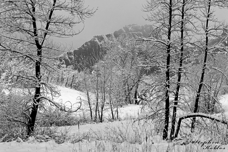 Roxborough State Park, winter, photo