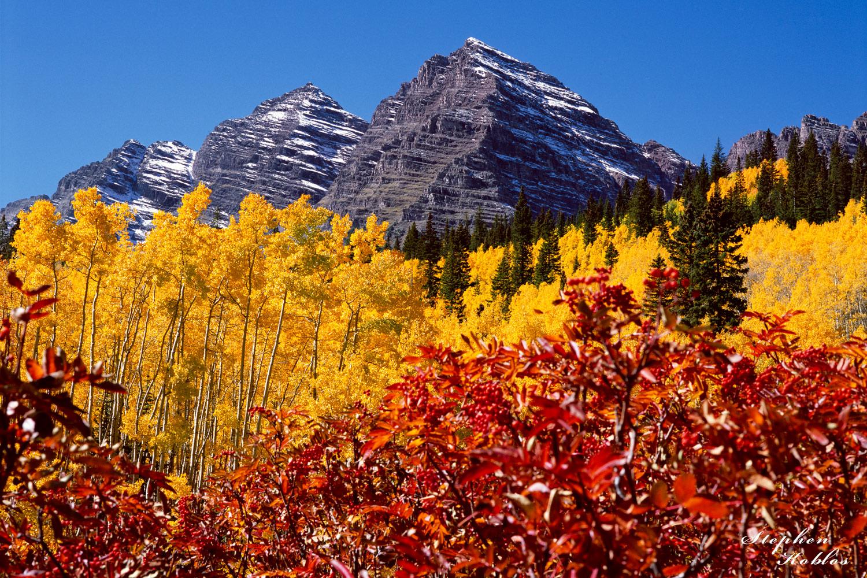 Autumn , Maroon Bells, photo