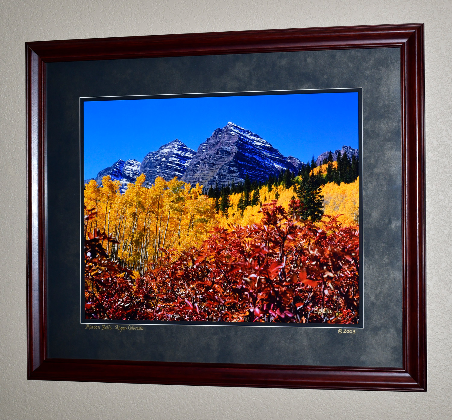 """The photo dimensions are 24""""x30"""". The frame dimensions are 36""""x42""""."""