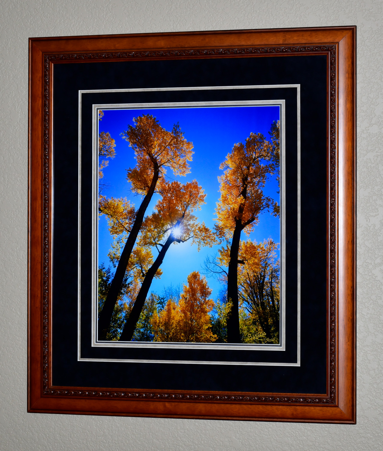 """The photo dimensions are 16""""x20"""". The frame dimensions are 28""""x32""""."""